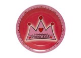 Crown Princess paper plates 9