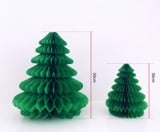 Christmas tree honeycomb tissue paper 30cm