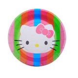 Hello Kitty paper plates 17cm 6/pack