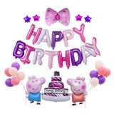 Bộ happy birthday heo peppa