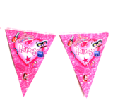 Jeweled princess bunting