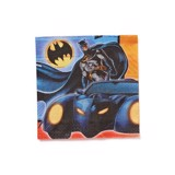 Batman paper napkins large 16/pack