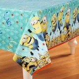 Minion table cover 213x137cm