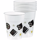 Hollywood plastic cups