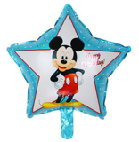 Mickey star balloon
