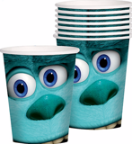 Monsters Inc. paper cups
