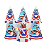 Captain America Paper hat