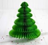 Christmas tree honeycomb tissue paper 50cm