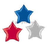[4th of July] Set bong bóng hình ngôi sao - Star foil balloon set