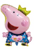 Peppa pig foil balloon (blue)