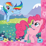 My Little Pony paper napkins 16/pack