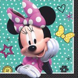 Happy Minnie paper napkins
