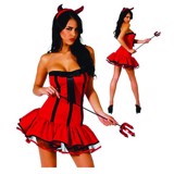 Devil Dress for Adult