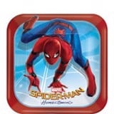 Spiderman paper plates small 18cm 8/pack