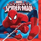 Spiderman paper napkins 16c/pack