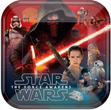 Star Wars paper plates large 23cm 8/pack