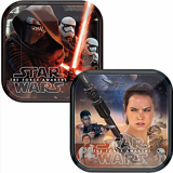 Star Wars paper plates small 18cm 8/pack