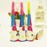 Hello Kitty horns 21cm 6/pack
