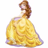 Princess belle foil balloon