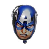 Captain face foil balloon