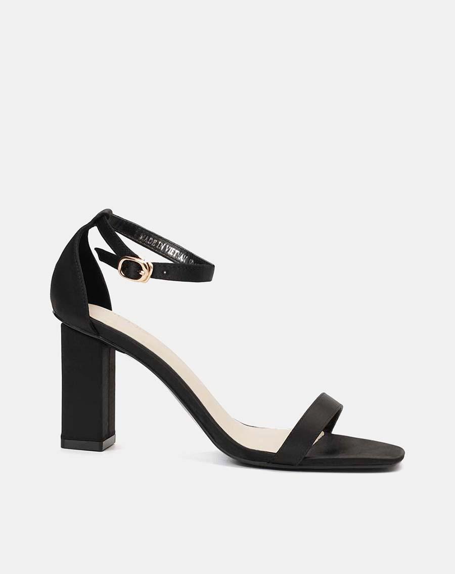 Giày sandal mũi vuông gót vuông – Giày dép túi xách made in Việt Nam