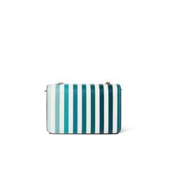 Túi xách nhỏ nắp gập in chuyển màu