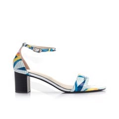 Bird of paradise mid-heel sandal SD05019 - Shades of love