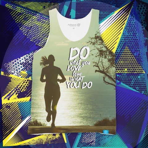 Do What You Love Run - Tank Top