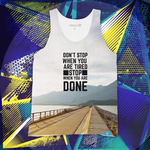Don't Stop Run - Tank Top