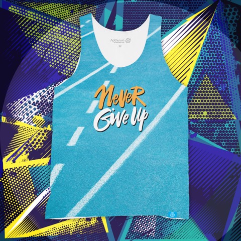 Never Give Up Run - Tank Top
