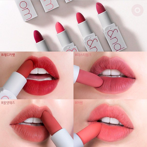 Son Lì Siêu Nhẹ Môi Romand Zero Gram Matte Lipstick – #All That Jazz