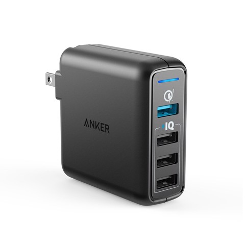 Sạc Anker 4 cổng PowerPort Speed 43.5W