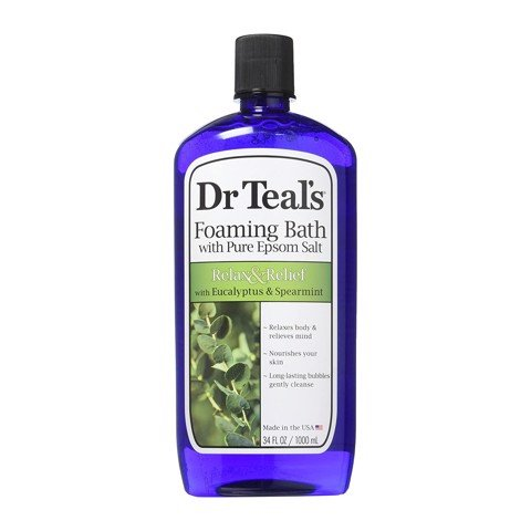 Sữa tắm Dr Teal's Foaming Bath with Pure Epsom Salt (Eucalyptus)