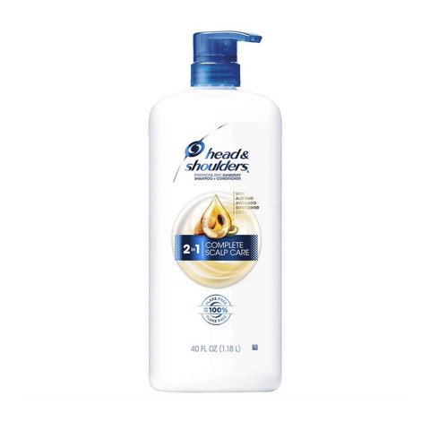 Dầu gội xả Head & Shoulders 2in1 Complete Scalp Care 1.18L