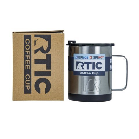 Ly giữ nhiệt RTIC Coffee Cup 12oz - Stainless