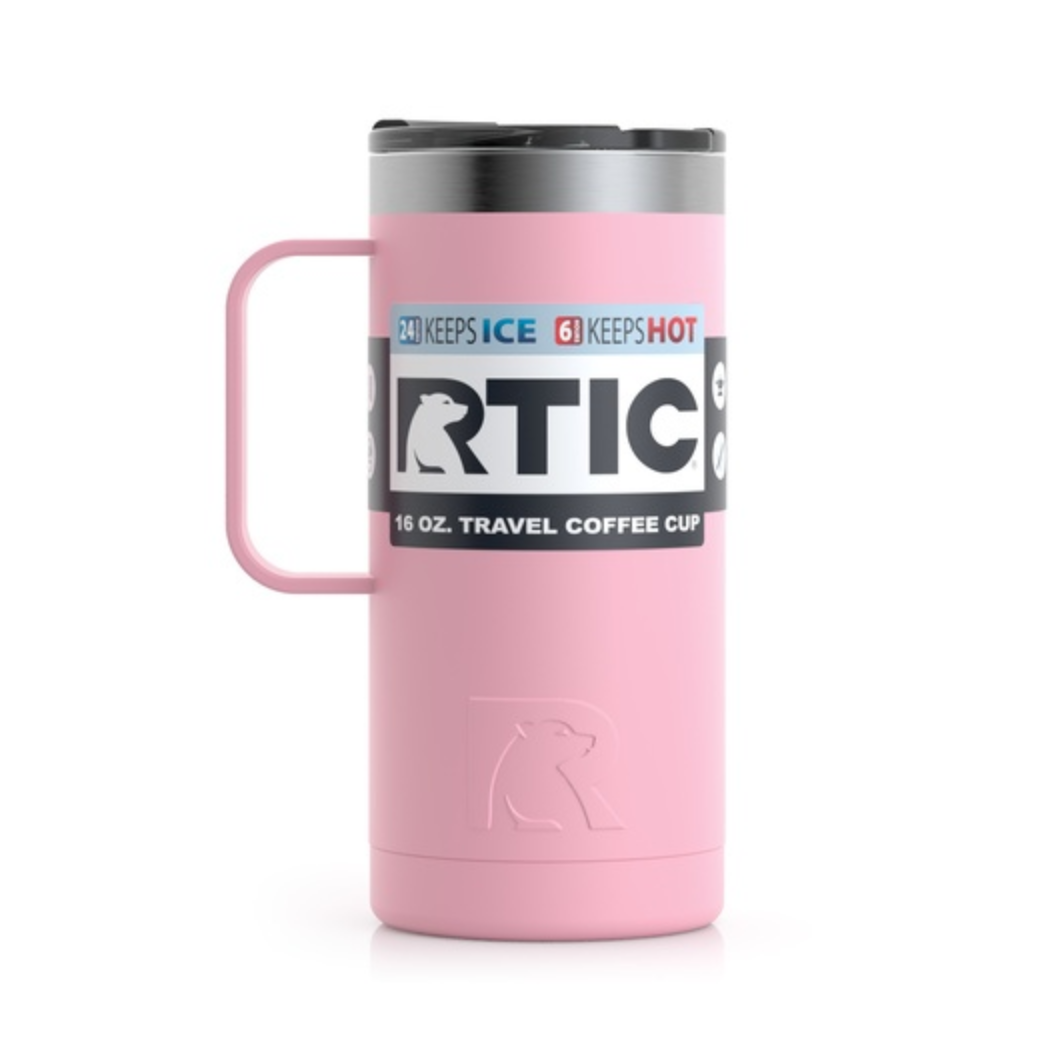 Ly giữ nhiệt RTIC Coffee Travel Cup - Hồng