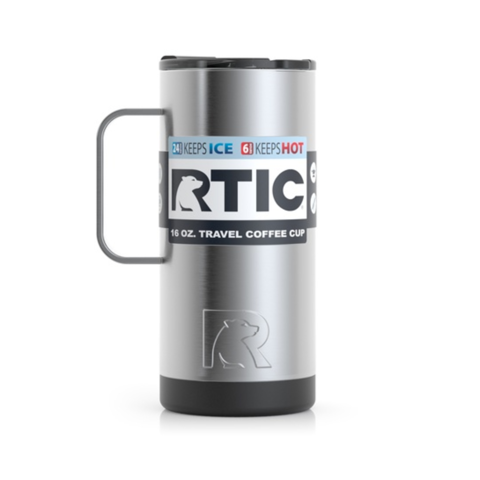 Ly giữ nhiệt RTIC Coffee Travel Cup - Silver
