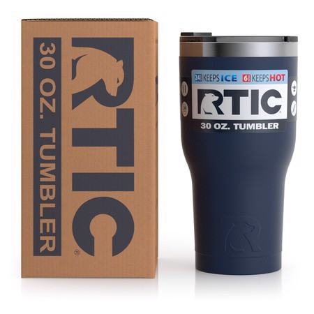 Ly giữ nhiệt RTIC 900ml - Navy Blue