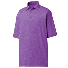 Áo golf nam tay ngắn Space Dye Lisle, Self Collar 22453 Violet | FootJoy