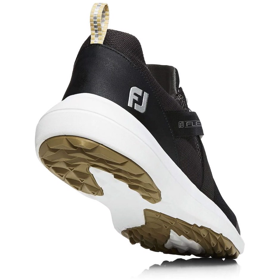 Giày golf nam FJ FLEX 56103S Black Extra Wide | FootJoy
