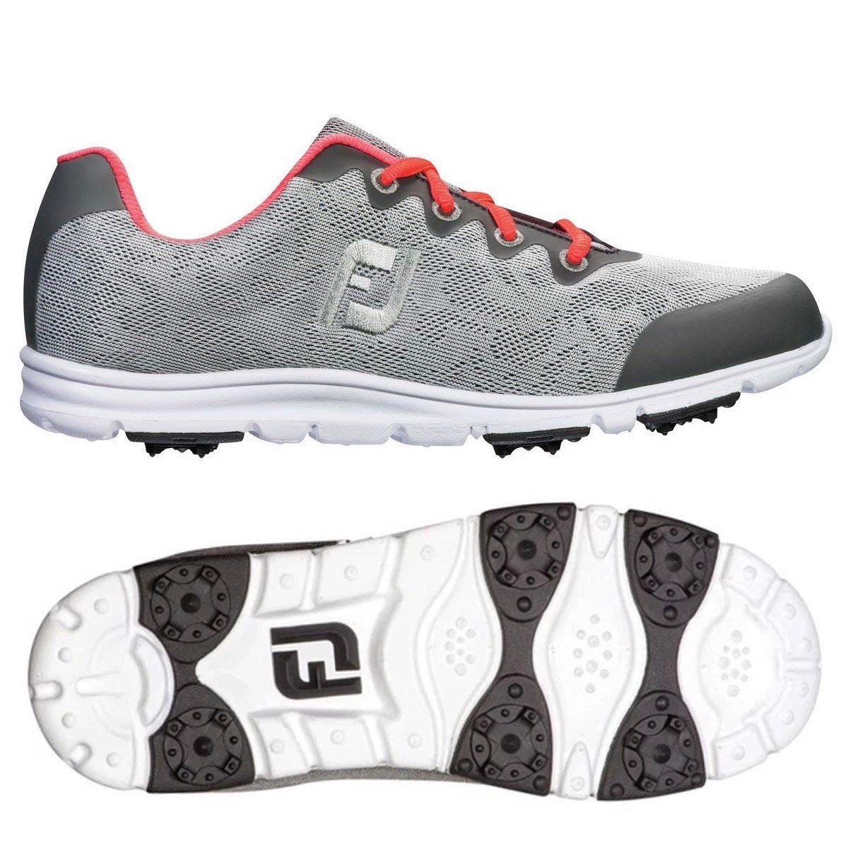 Giày golf nữ ENJOY CHARCOAL/GRAPE 95711 Wide | FootJoy