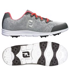 Giày golf nữ ENJOY GREY/PINK 95703 Wide | FootJoy