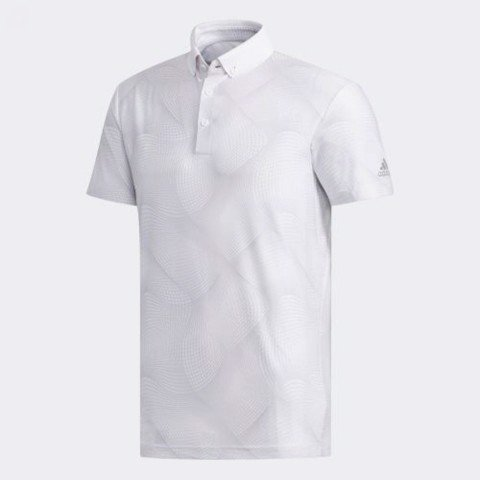 Áo Golf ALLOVER PRINT RIBBED POLO SHIRT DW7673 | Adidas