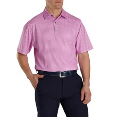 Áo golf caro Lisle Plaid Print Self Collar 86493 ATHLETIC | Footjoy