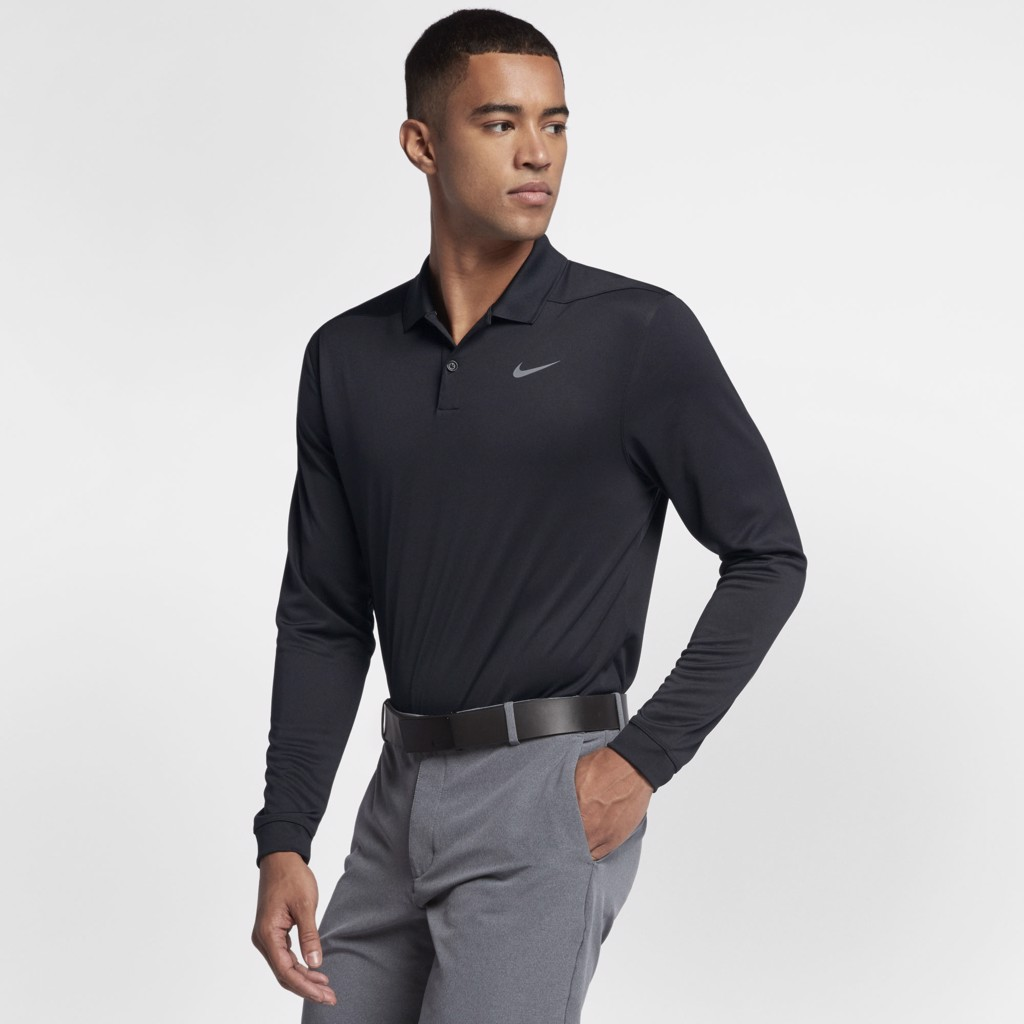 Áo golf DRY VICTORY POLO LONG SLEEVE 891235-010 | NIKE