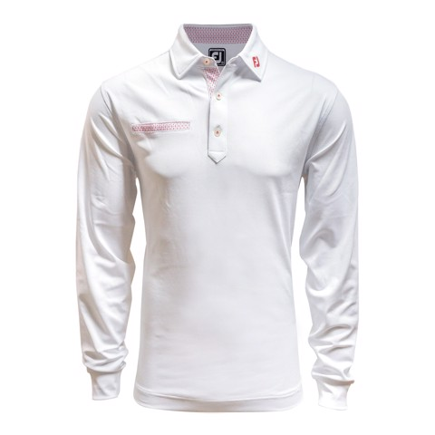 Áo golf nam tay dài LS Chest Fake Pocket FJ 85158 | Footjoy