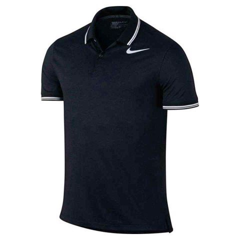 Áo golf nam tay ngắn AS MDN TR DRY TIPPED POLO 833076-010 | Nike