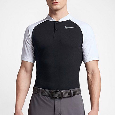 Áo golf nam tay ngắn AS NIKE DRY POLO SLIM RAGLAN 833080-010 | Nike