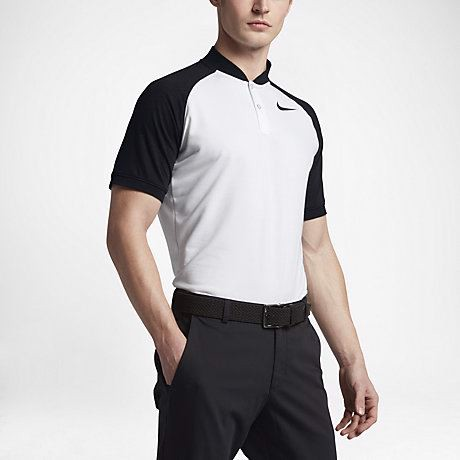 Áo golf nam tay ngắn AS NIKE DRY POLO SLIM RAGLAN 833080-101 | Nike