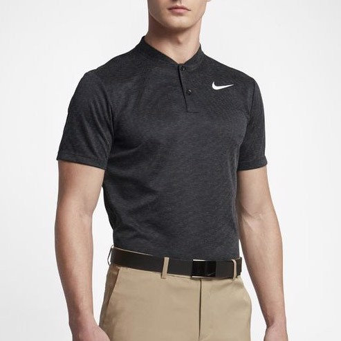 Áo golf nam AS NIKE DRY POLO SLIM STRP BLD 850699-010 | Nike